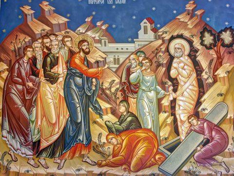 Cu Sâmbăta și Învierea lui Lazăr începe cea mai frumoasă perioadă din an: Patimile și Învierea Domnului