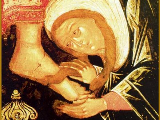 Sfânta și Marea zi de Miercuri. Iuda și femeia cea păcătoasă, două personaje care lucrează paradoxal