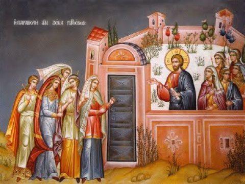 Sfânta și Marea zi de Marți. Nimeni nu va putea vedea pe Mire fără să aibă ca virtute milostenia