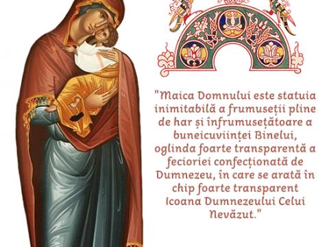 Maica Domnului – persoana care a răspuns, răspunde, și va răspunde cel mai frumos IUBIRII LUI HRISTOS.