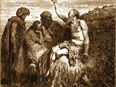 Cartea lui Iov (capitolul 3) Suferința lui Iov este ca o jertfă totală a ființei lui. (marți, 4 dec. 2018)
