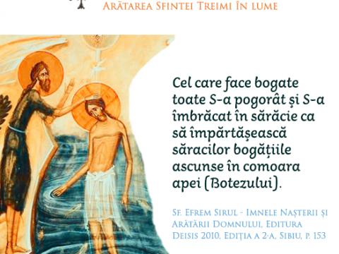 Sf. Ioan Botezătorul-profetul profețit și Apa moleculă complexă de transmitere a sfințeniei
