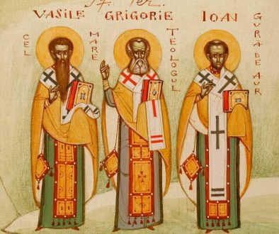 Sfinții Trei Ierarhi: trâmbitele adevărului, preaînţelepţii oratori, tunetele Dumnezeirii celei nezidite