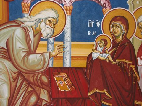 Întâmpinarea Mielului și Pruncului Iisus Hristos la templu