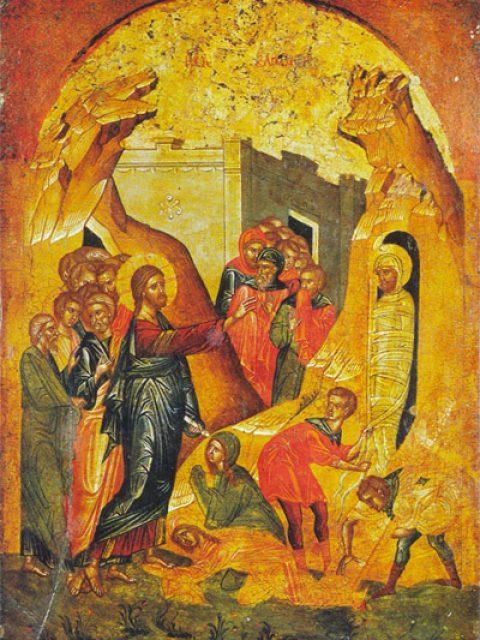 Învierea lui Lazăr prefigurează Învierea Domnului și învierea tuturor morților (2019)