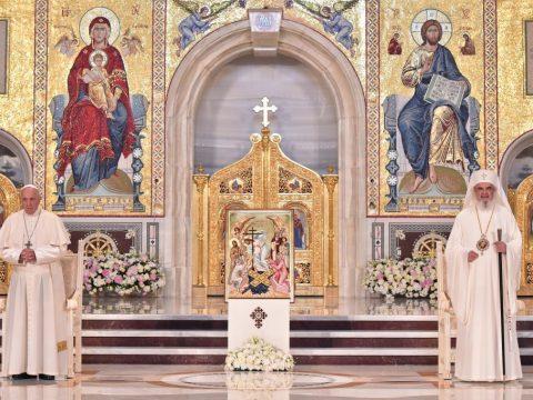 Dacă Biserica Ortodoxă Română primește cu dragoste pe Papa Francisc, atunci așa să faci și tu în inima ta