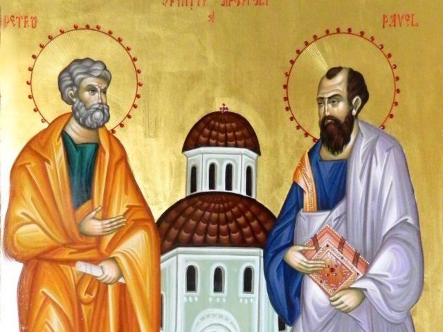 Sfinții Apostoli Petru și Pavel. Pe 29 iunie serbăm căutarea după Dumnezeu a celor mai mari doi oameni ai creștinătății.
