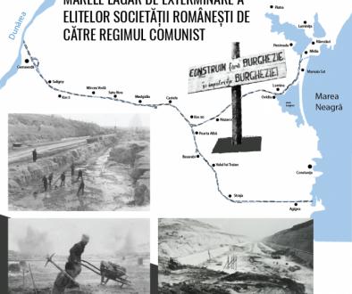 """""""Canalul Dunăre-Marea Neagră: marele lagăr de exterminare a elitelor românești"""" (22 aug. 2019, ora 18.00, Galați)"""
